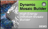 photo mosaic build animation demo