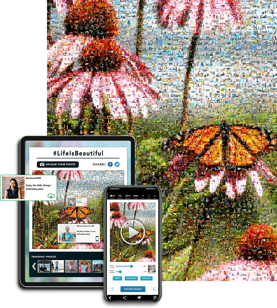 photo mosaic example