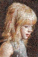 Little Girl Mosaic